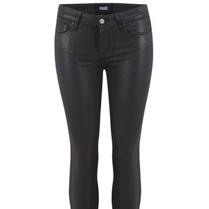 Paige Verdugo Ultra Skinny Coated denim